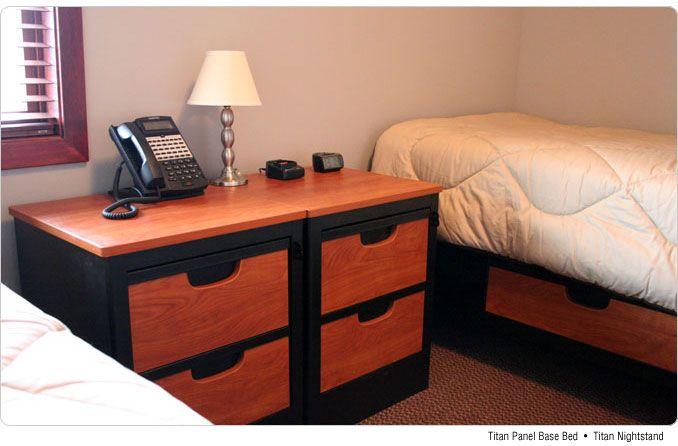 Norix Fire Station Furniture Installation, Texas Township: Titan Steel Dorm  Furniture