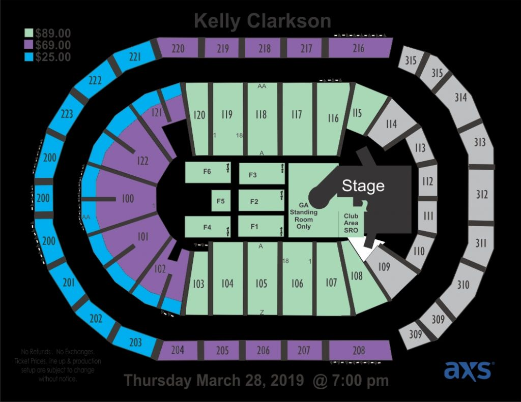 The Amazing Infinite Energy Arena Seating Chart Seating Charts Chart Concert Stage