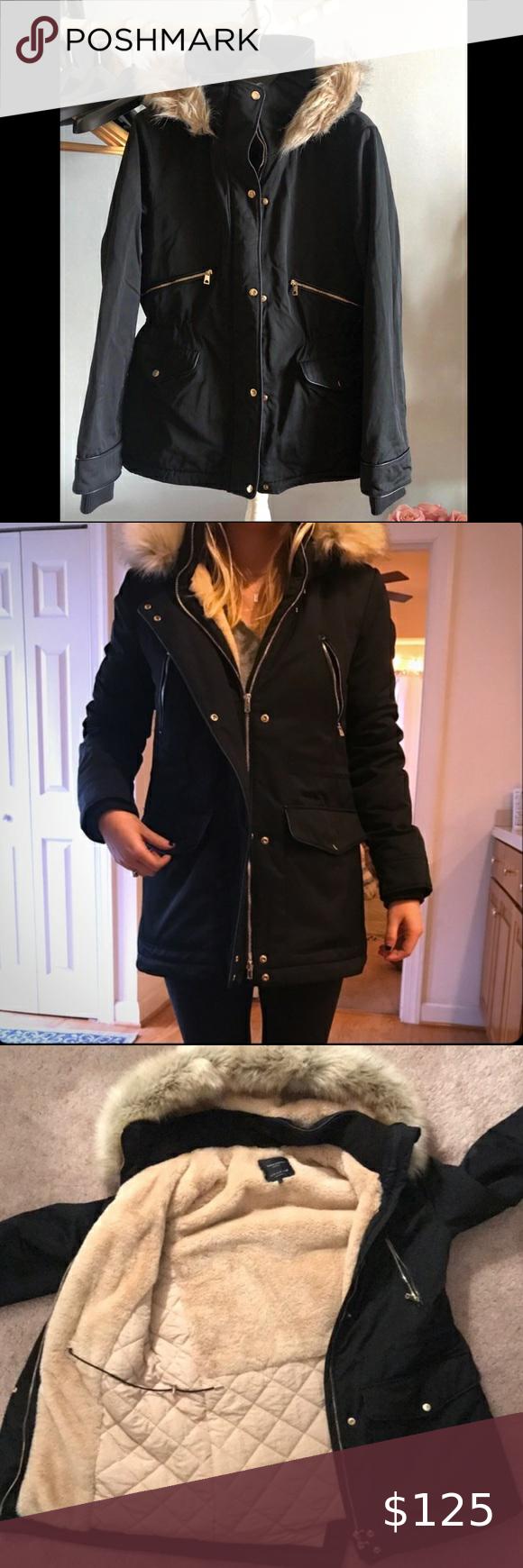 Zara Trafaluc Outerwear Winter Jacket Size Small Outerwear Winter Jackets Zara [ 1740 x 580 Pixel ]