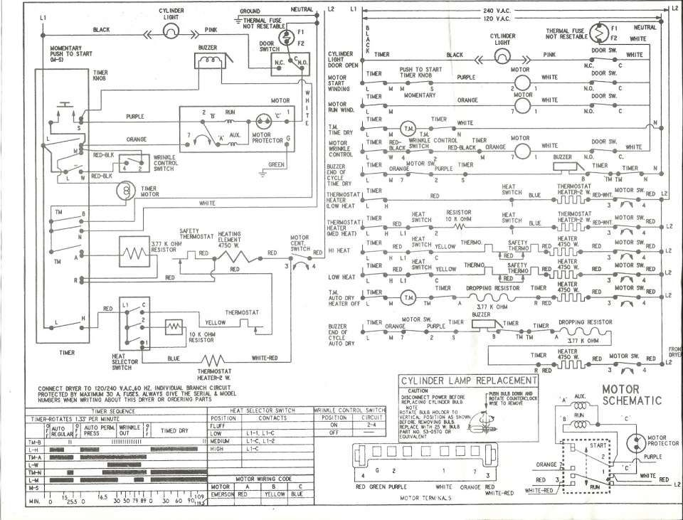 110 Dryer Wiring Diagram