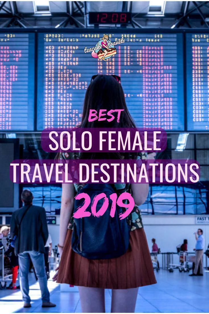 2020 Best Solo Female Travel Destinations for each Month of the Year #futuretravel