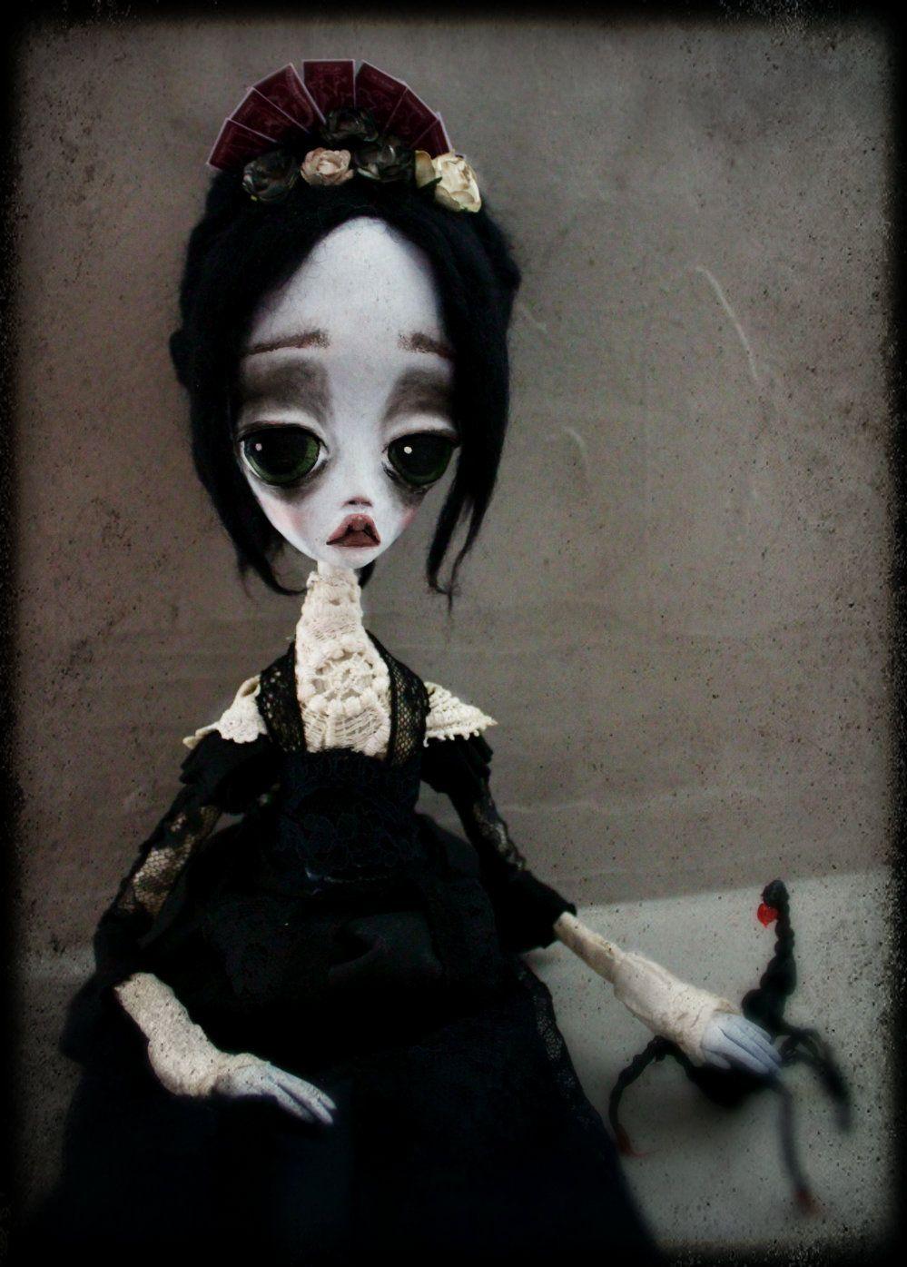 Vanessa Ives art doll