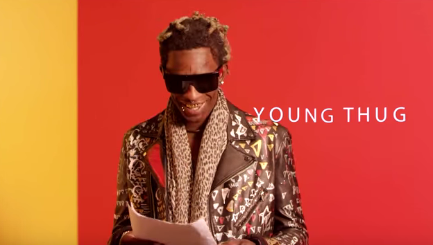 Young Thug Reading The Lyrics To His Song Best Friend Is Everything Young Thug Best Friends Young