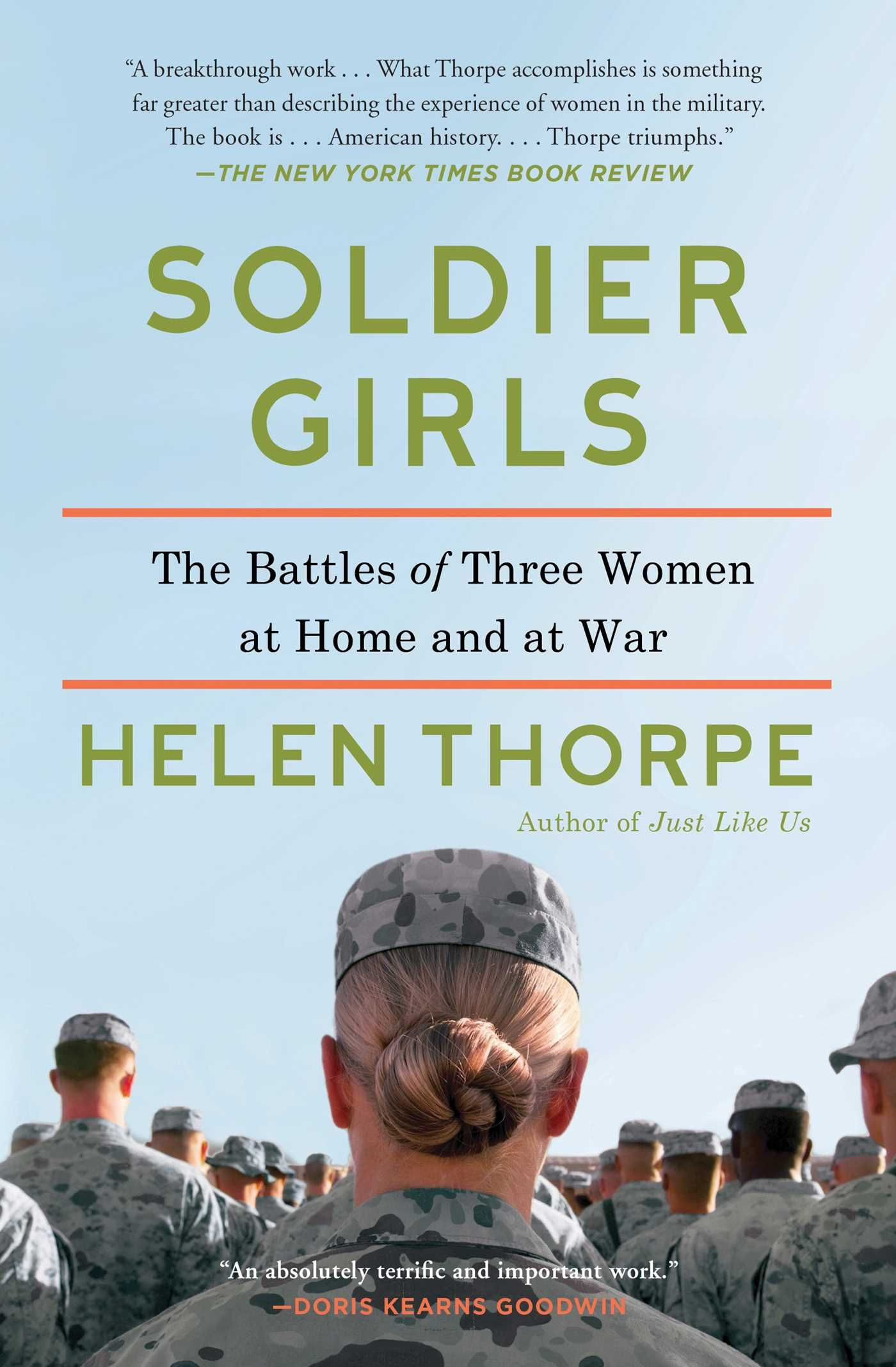 A Good Read  Different Prespecitive  Soldier Girls  Book By Helen Thorpe   Official