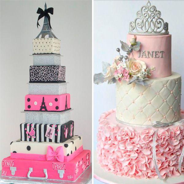 Nuevas tendencias en decoraci n de tortas tortas de 15 - Nuevas tendencias en decoracion ...