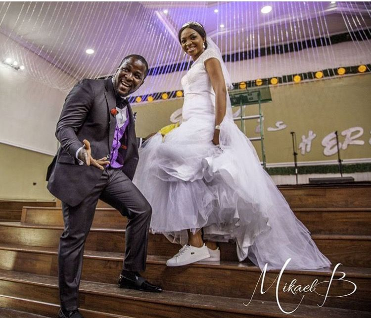 Nigerian Bride In Sneakers Www Loveweddingsng Com Nigerian Bride