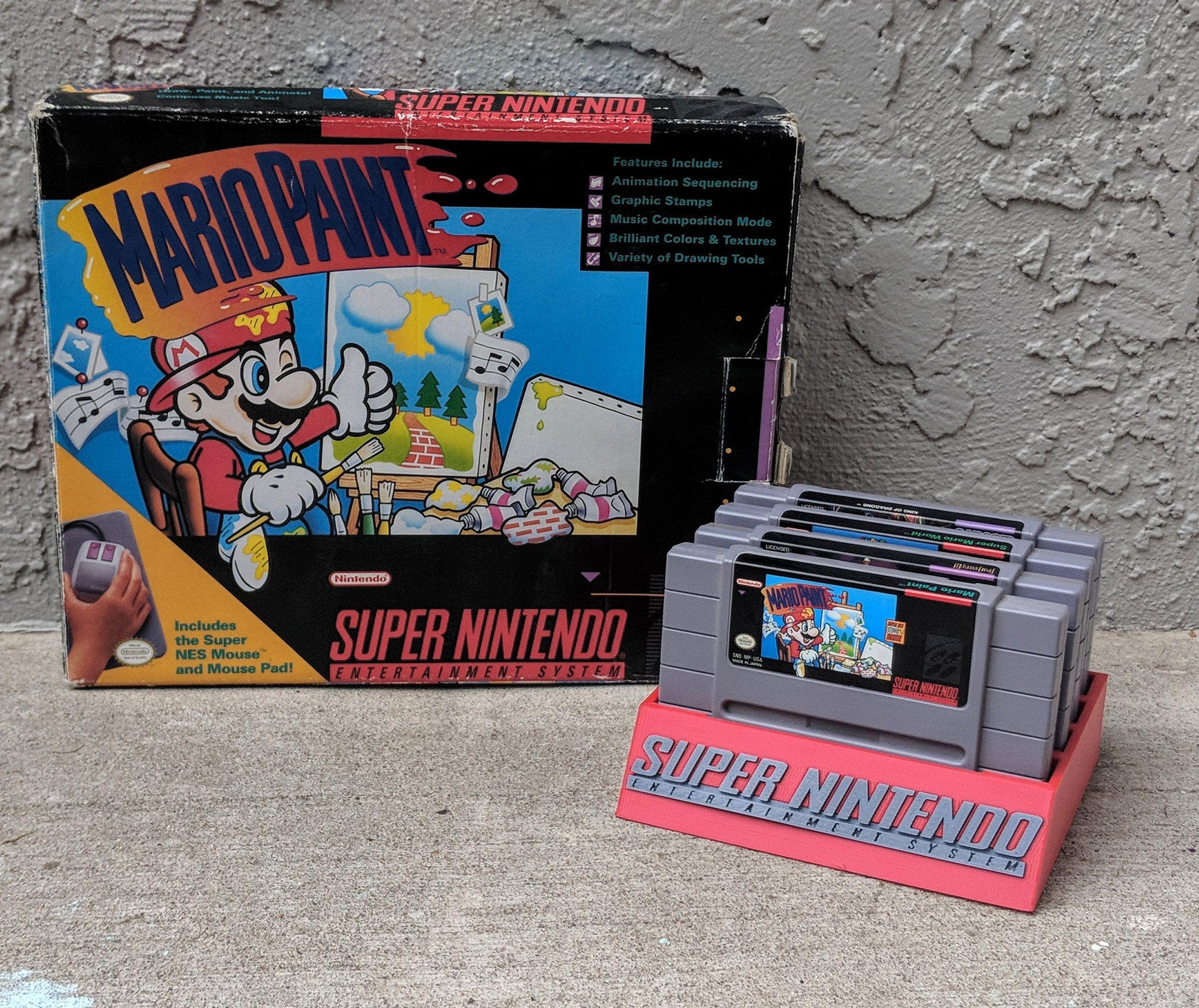 Super Nintendo Entertainment System SNES Game Cartridge
