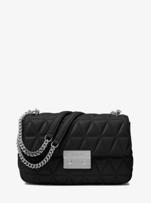 c553b81d39ca MICHAEL Michael Kors Sloan Large Quilted-Leather Shoulder Bag ...