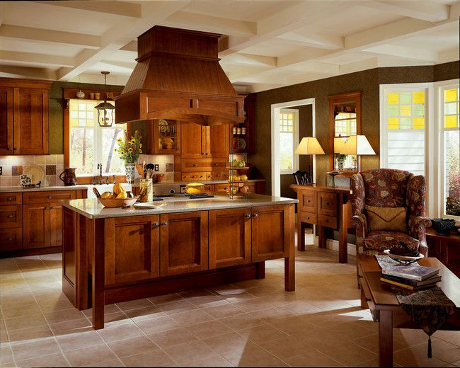 Love this Mission Style kitchen For the Home Pinterest Kitchen