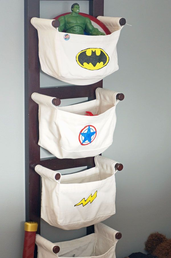 Boy superhero bedroom id es cr atives pinterest chambre enfant id e - Deco chambre super heros ...