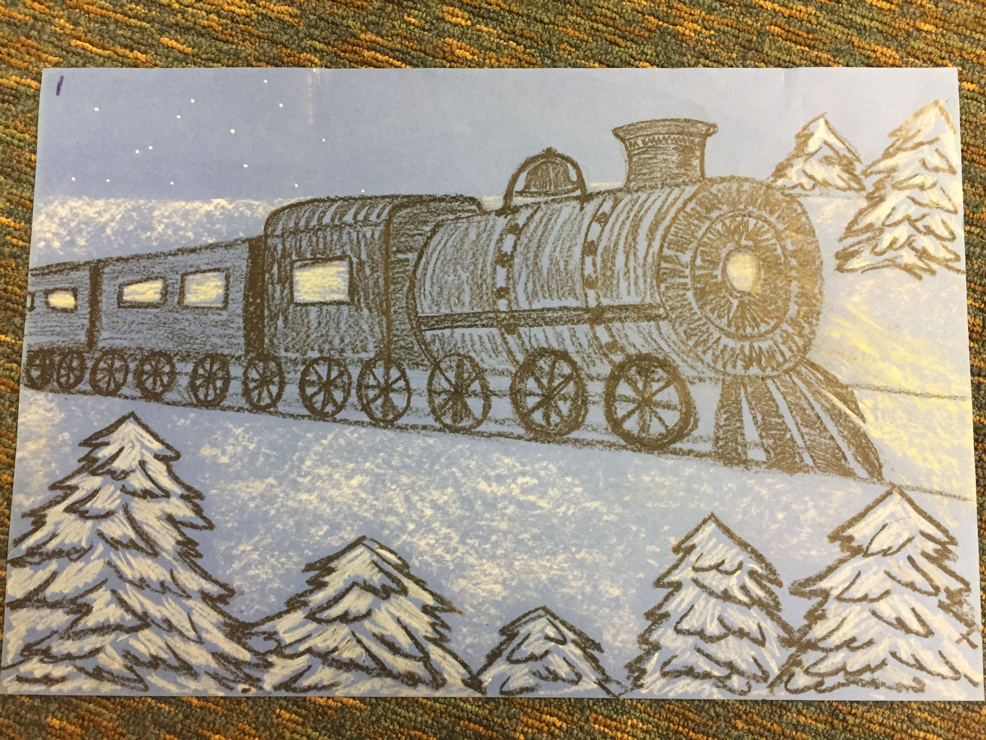 Read The Polar Express By Chris Van Allsburg And Have