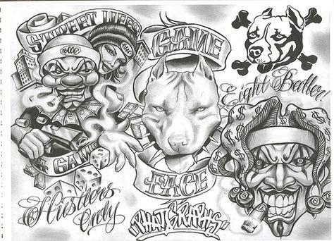 Chicano Tattoo Designs Tattoovoorbeeld Chicano Style Tattoo Chicano Tattoos Boog Tattoo