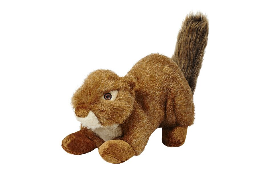 Fluff Tuff Red Squirrel Is A Large Toy Measuring Approximately