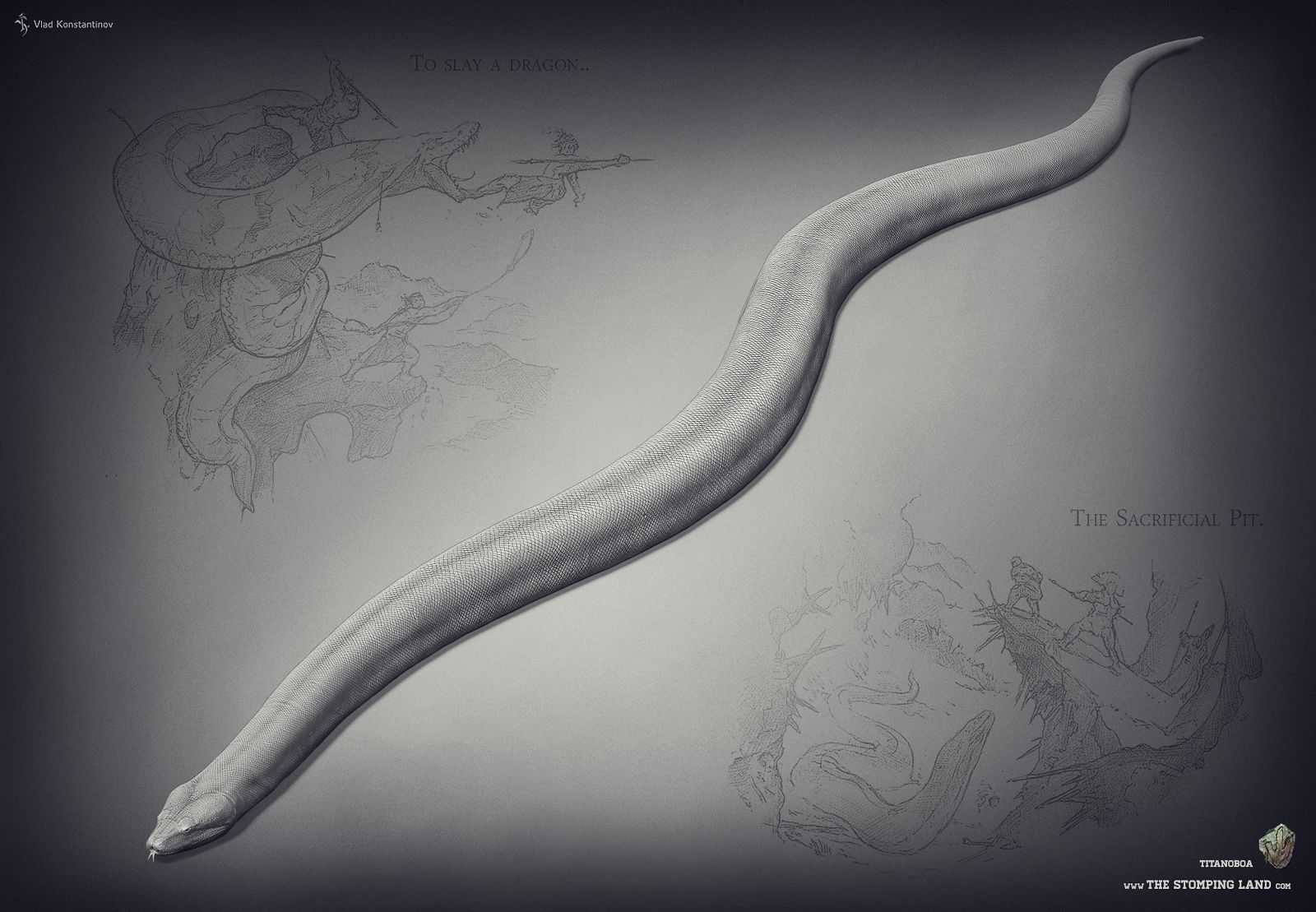 The titanoboa in the isle will be like for tribals if you