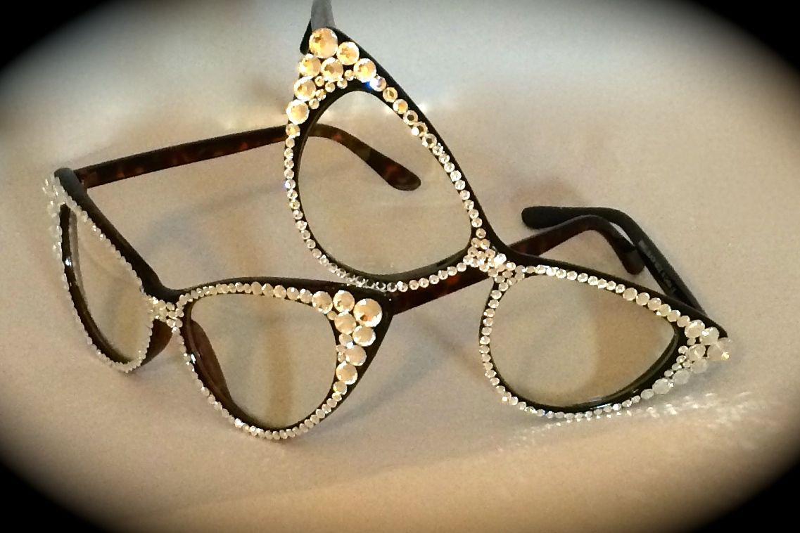 #LoveMarnie #EyeCandy by Marnie Grundman adorned with #Swarovski Crystals. www.marniegrundman.com