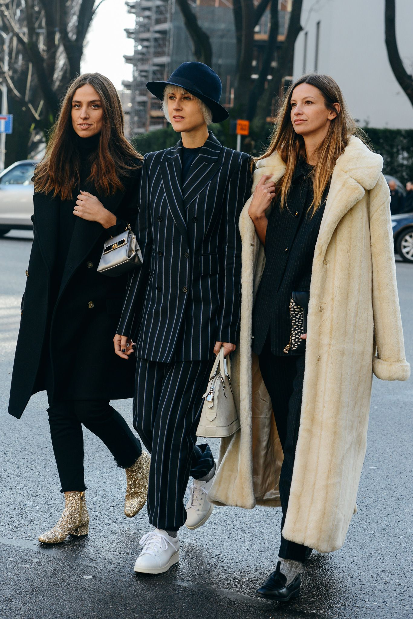 Tommy ton in milan street style at the fall u menus shows
