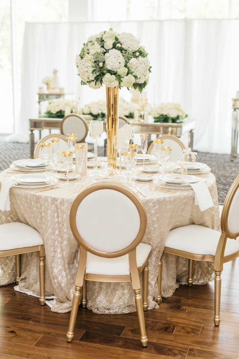 Stylish Greek Wedding Theme with Gold Decor | Greek wedding theme ...