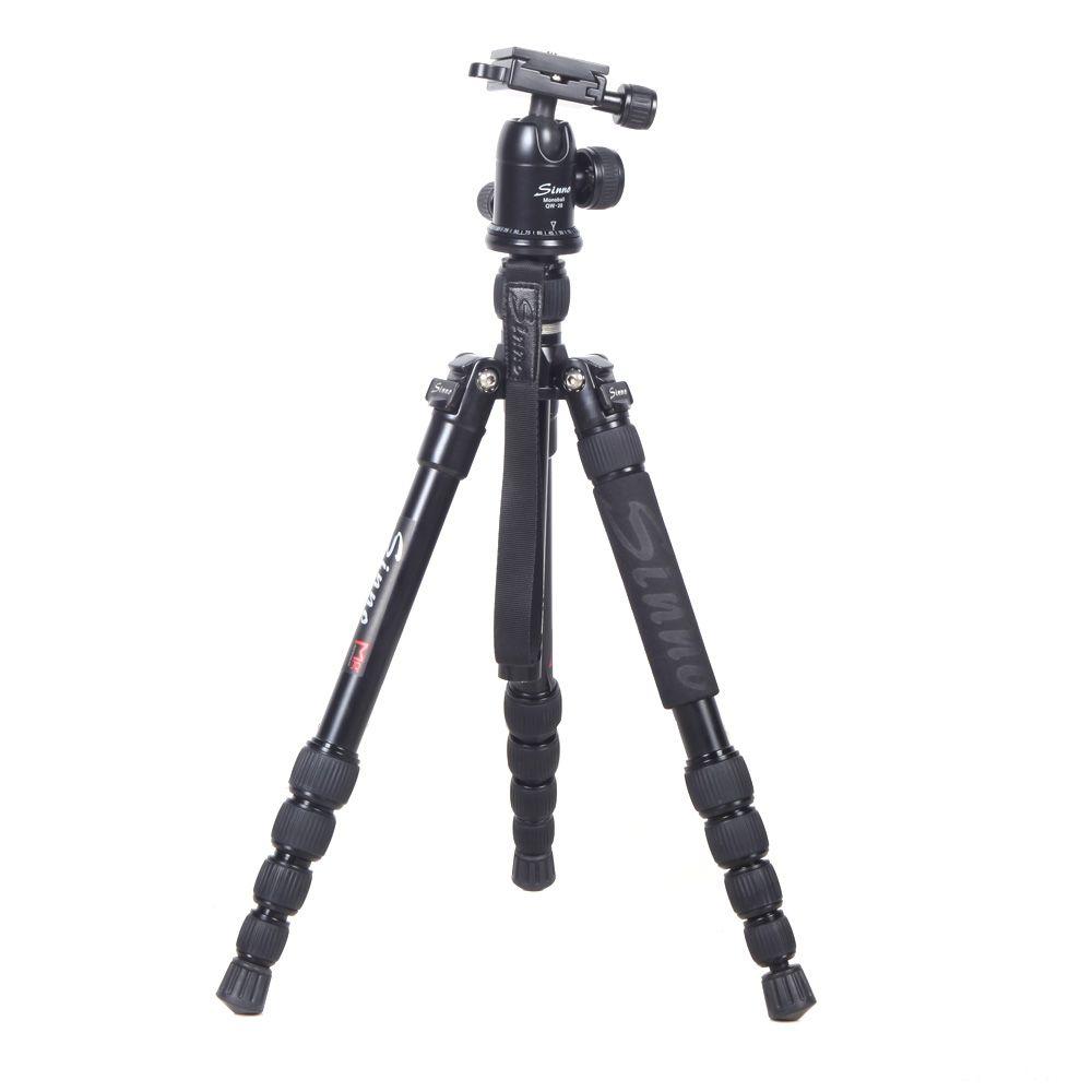 Q13717 Sinno M-2522Z Professional SLR DSLR Camera Ultra-light Aluminum Tripod Adjustable Portable Monopod with Ball Head