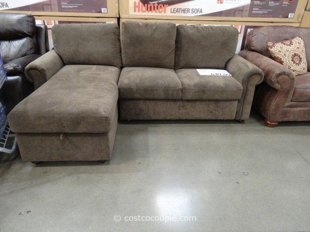 Pulaski Newton Sofa Chaise Costco Chaiselongue Sofa