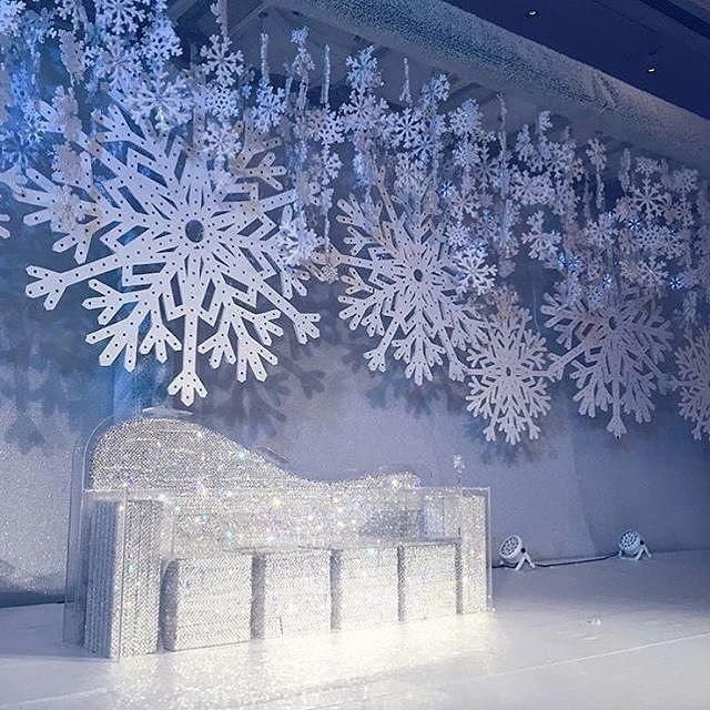 Winter Themed Christmas Decorations: Pin By Helenka On Wedding Backdrop