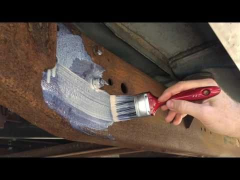 How To Paint Rusty Metal - YouTube | campervan ideas
