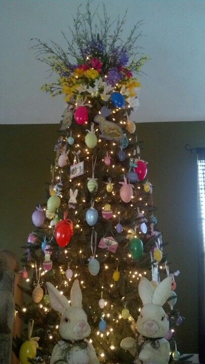 Easter Tree Easter Craft Decorations Easter Tree Decorations Christmas Tree Themes