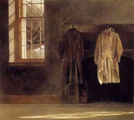 When Two Coats Are Enough Andrew Wyeth Quaker A Reminder To