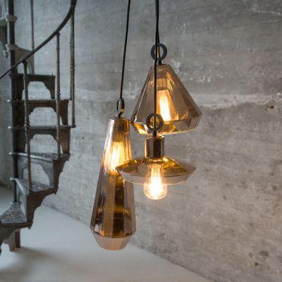 Hanglamp Topaz 2 koper | Lampen | Pinterest - Lampen en Verlichting