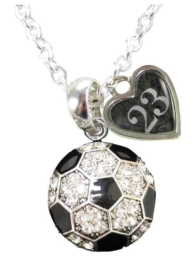 Soccer Player Pewter Charm Earrings ~ Silver//Gold Plated ~ Soccer Moms SALE!