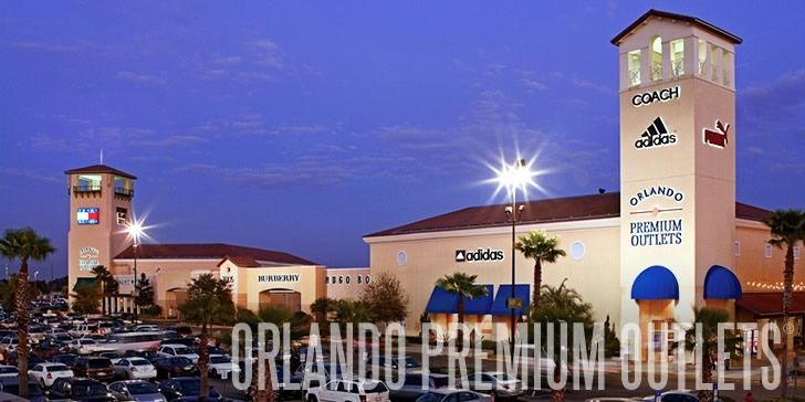 Orlando Premium Outlets Shop At Known Designers Such As Armani