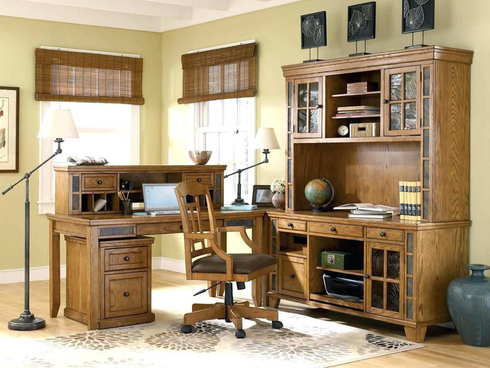 Cottage Style Office Rustic Farmhouse
