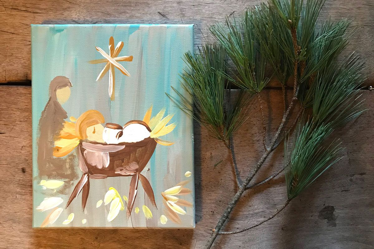 Nativity Artwork For Children And Their Grownups