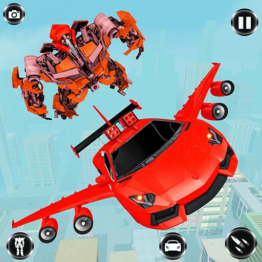 Download Flying Car Robot Transformation Simulator 1 0 5 Apk Di 2020