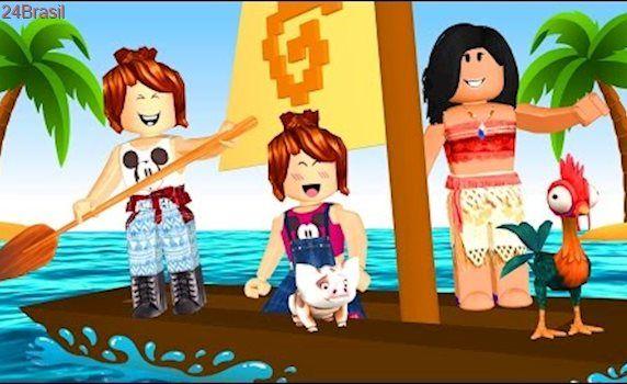 Roblox Vida De Moana Moana Island Life Com Imagens Julia