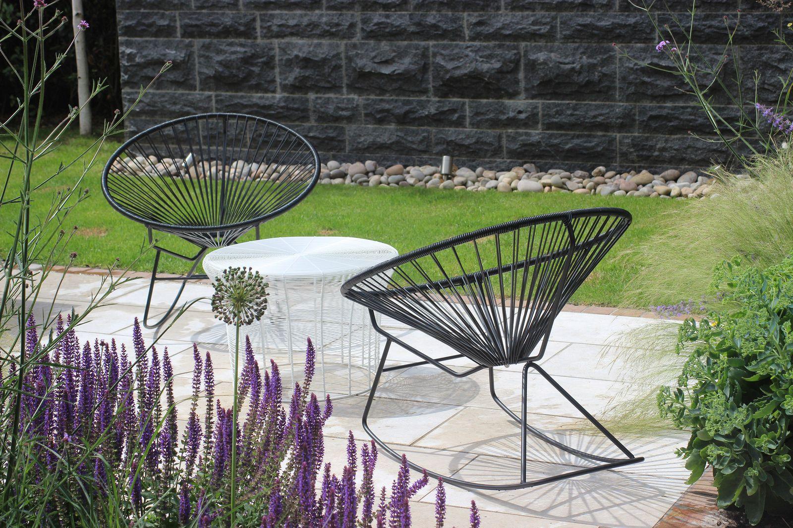 Didsbury Garden Private Garden Design Garden Stone Feature Wall
