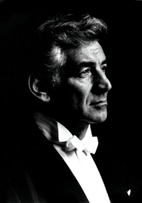 Leonard Bernstein    (1918-1990). Composer, pianist and conductor.