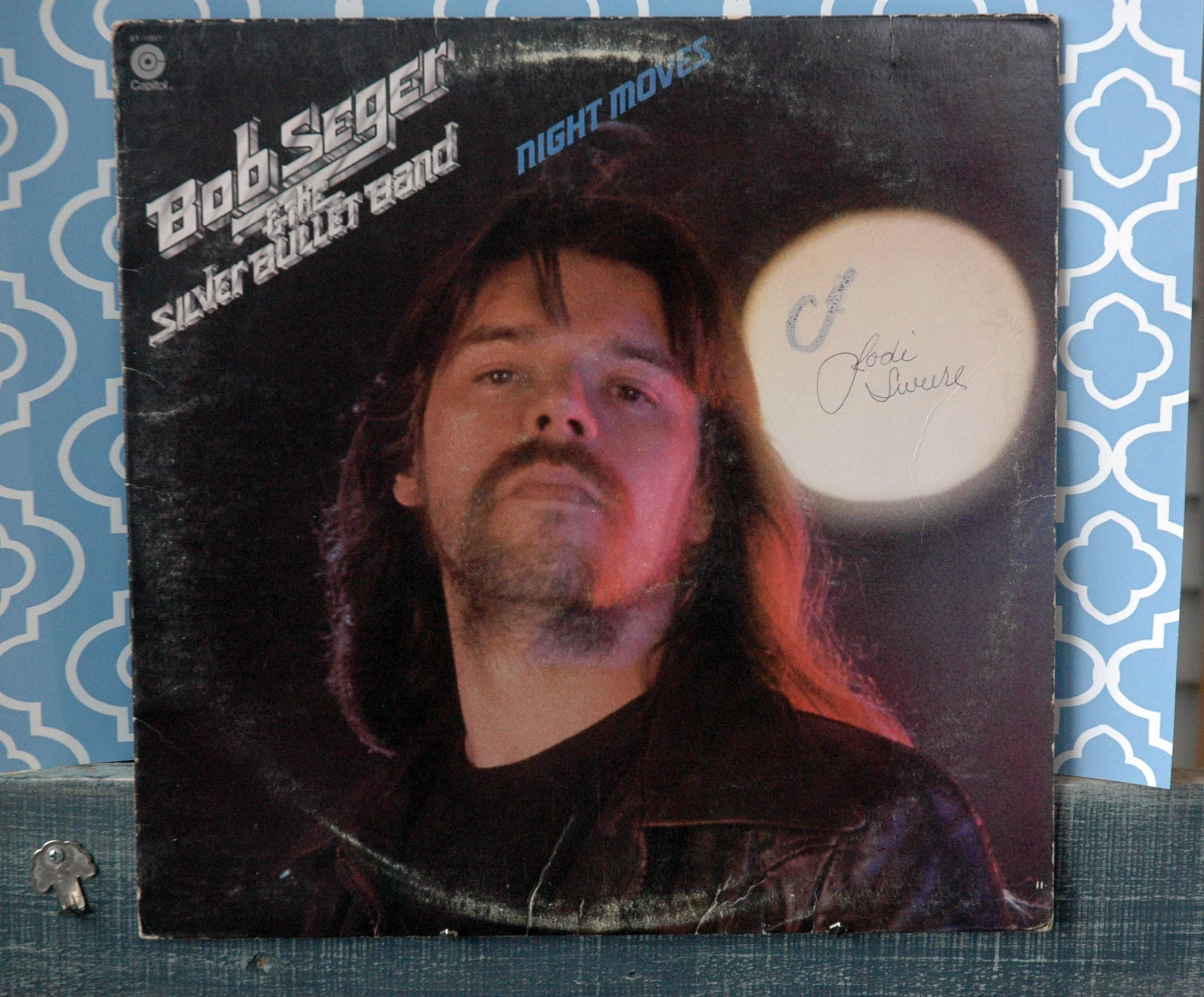 1st Vinyl Addition To My Etsy Shop Free Shipping Bob Seger And The Silver Bullet Band Night Movie Lp Vinyl Album Us Bob Seger Night Moves Vinyl Record Album