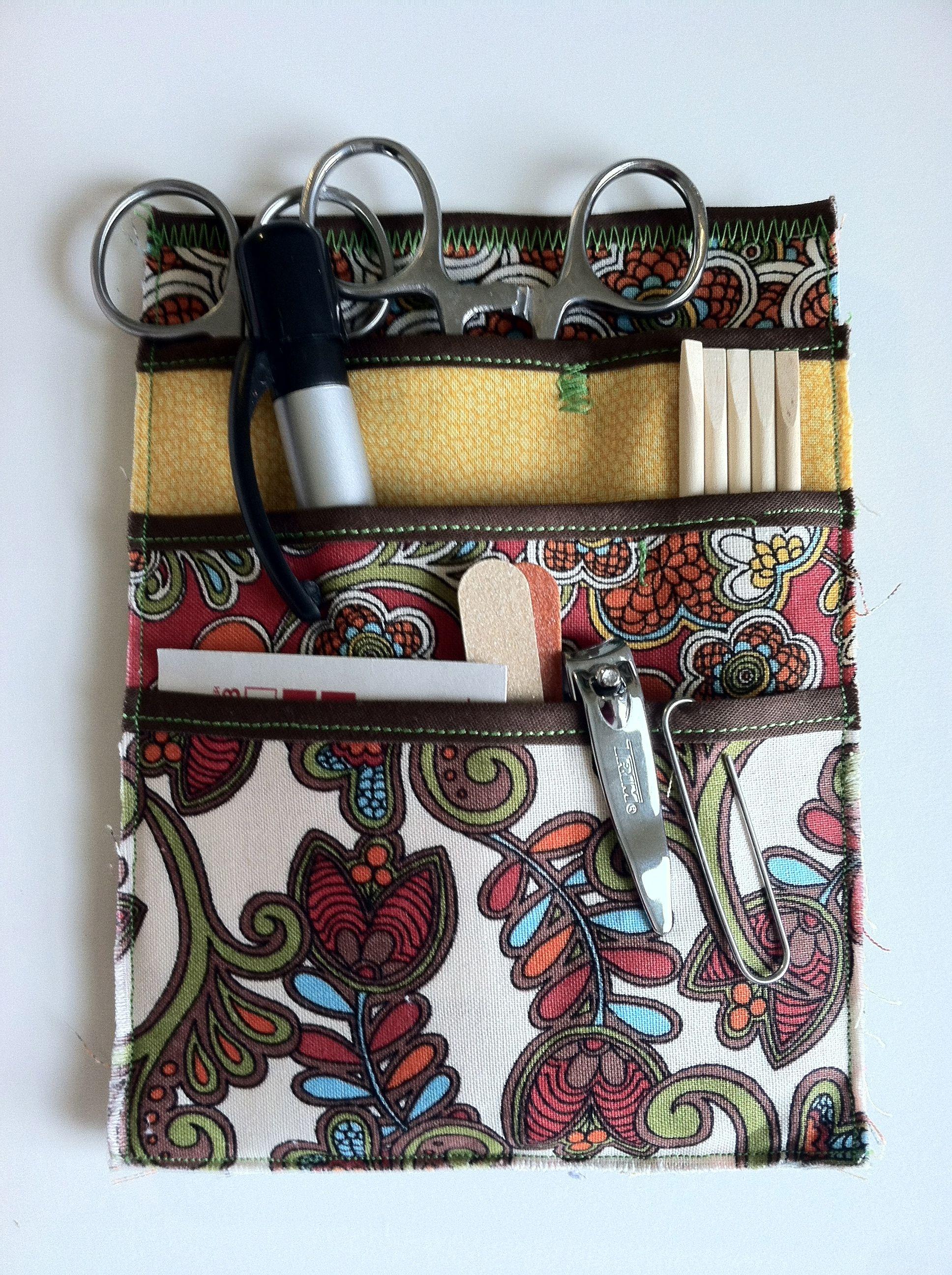 my homemade nurses pocket organizer   pocket protector