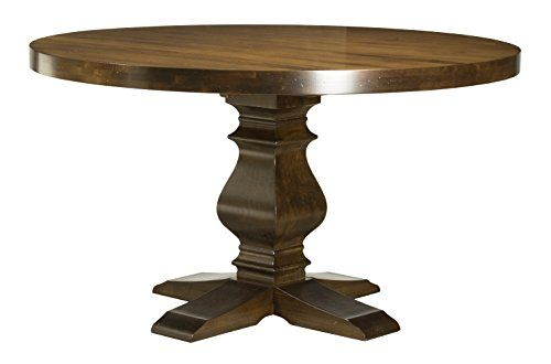 Saloom Furniture Mdwo 5454 1 Ken Distressed Flax Kent Collection Round Maple Extendable Dining Table 54 Maple Dining Table Dining Table Saloom Furniture