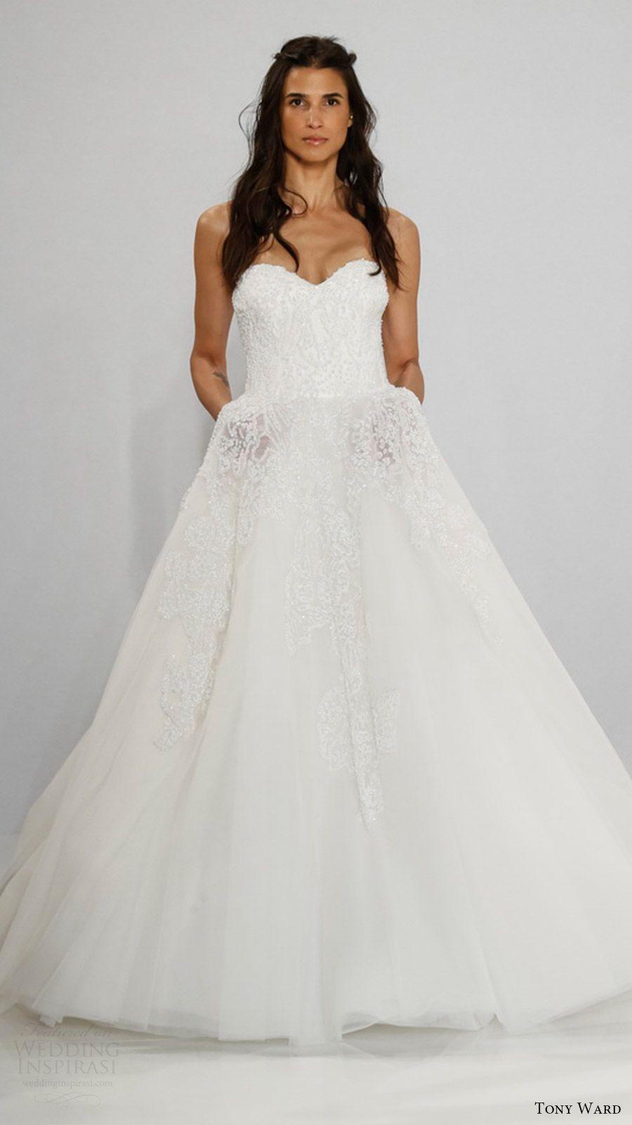 Ball gowns wedding dresses  Tony Ward Bridal  Wedding Dresses  Pinterest  Tony ward bridal