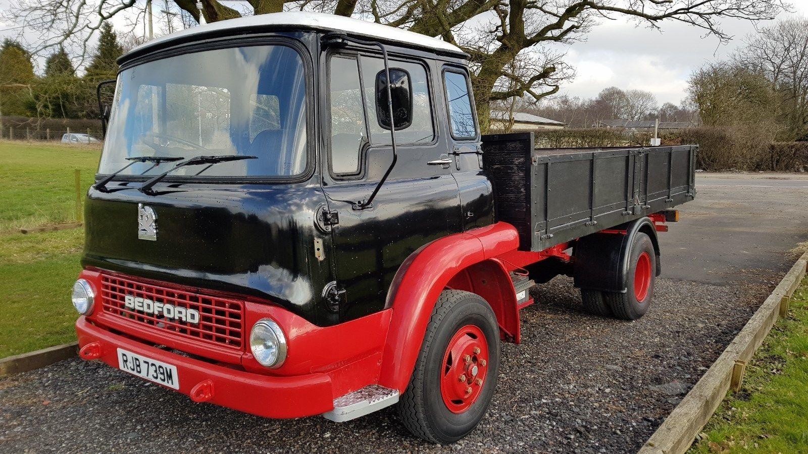 eeea7994a1 eBay  1974 Bedford TK330 Diesel flat bed swb lorry BARN FIND drives great 5  speed box