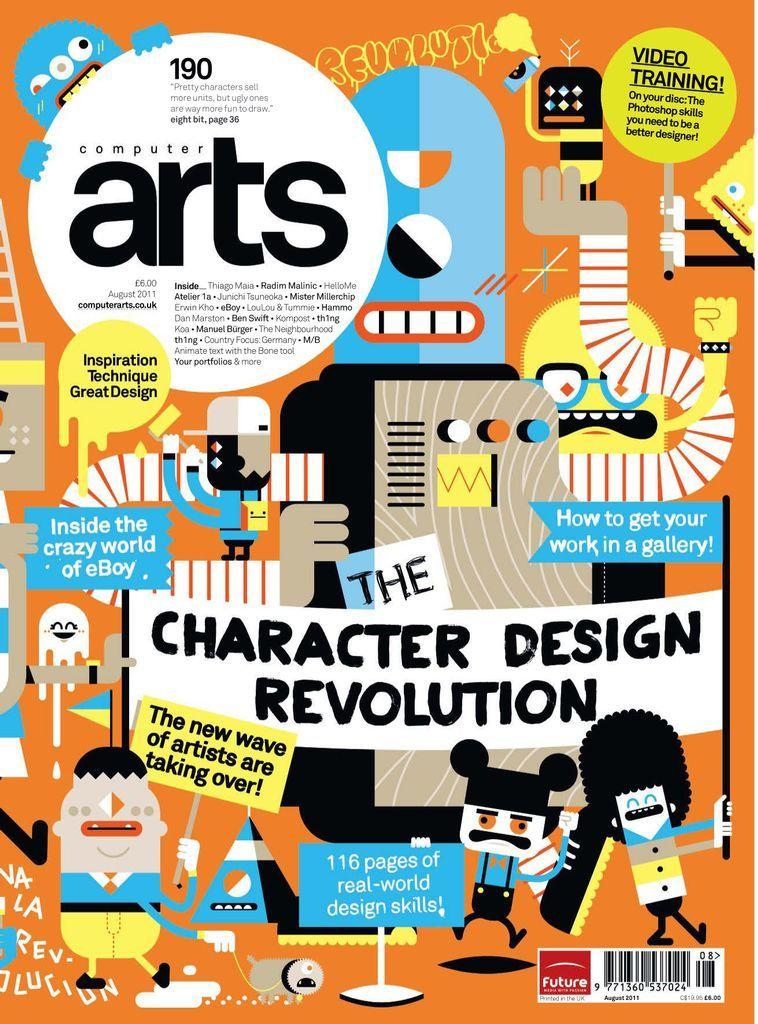 Computer Arts Back Issue August 2011 Digital In 2021 Computer Art Magazine Design Cover Graphic Design