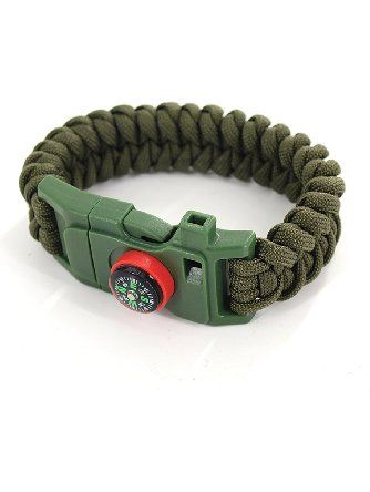Dew Survival Kit Traveling Camping Hiking Paracord Multi Tool
