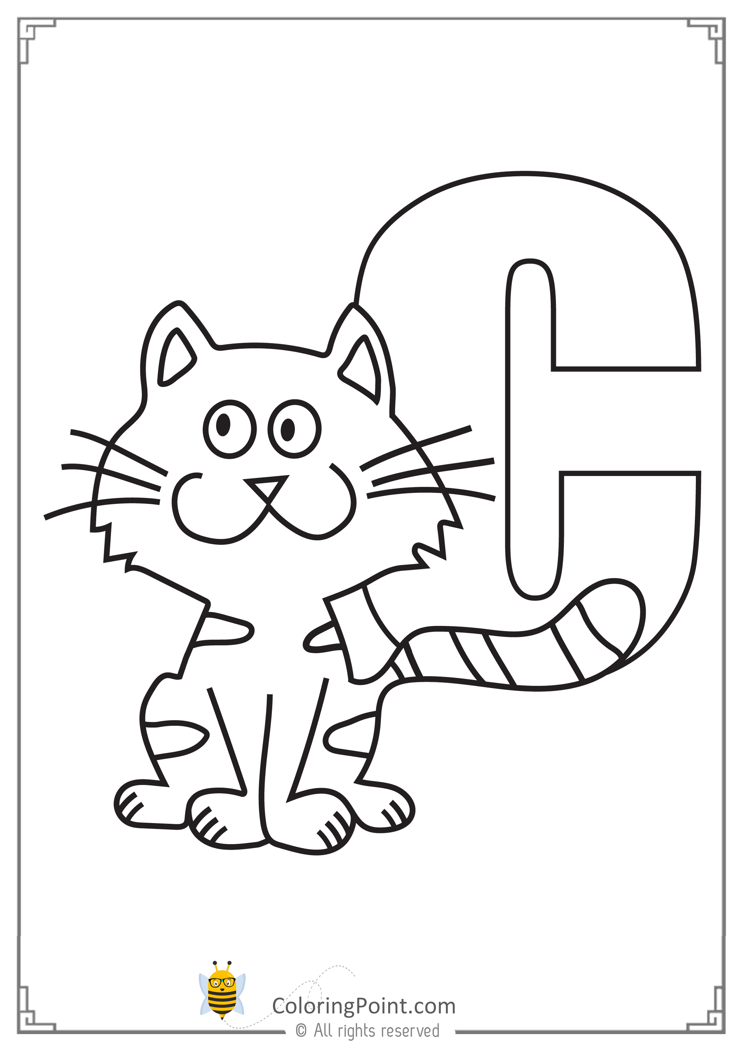 Alphabet Letter C Printable Activities Coloring Page