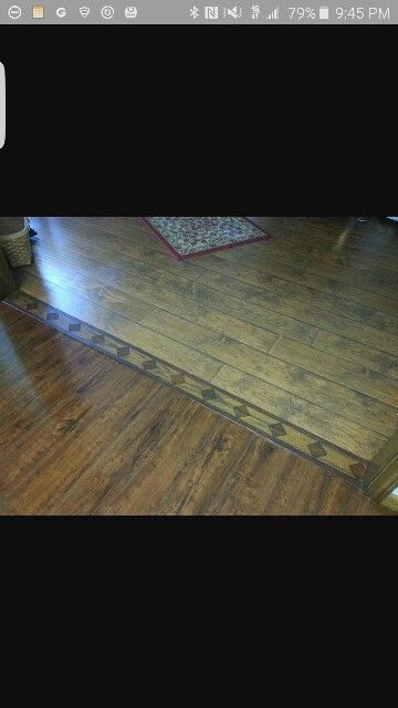 Example Of Transitioning 2 Different Types Of Flooring Lakehouse