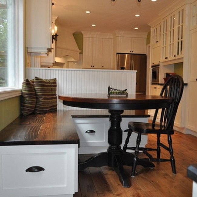 corner dining nook | Corner Nook Dining Sets With Storage, picture ...