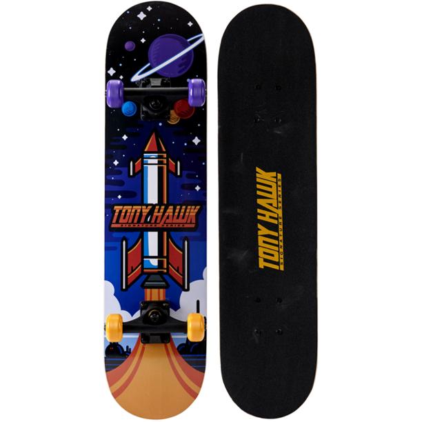Tony Hawk 31 Rocket Skateboard Walmart Com In 2021 Tony Hawk Skateboard Tony Hawk Skateboard Ramps