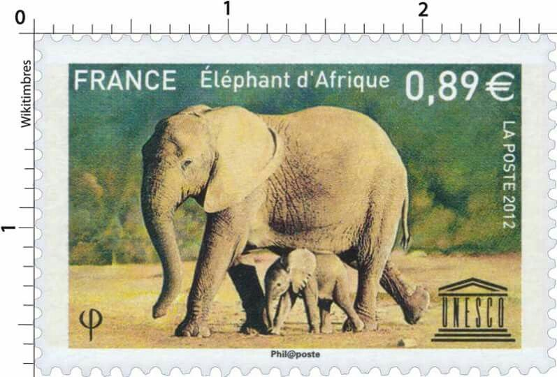 https://www.wikitimbres.fr/timbres/3444/2012-elephant-dafrique ...