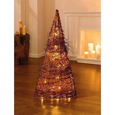 Weihnachtsbeleuchtung Kegel.Lichter Kegel Silence Höhe 100 Cm Willow Lighting Lighting