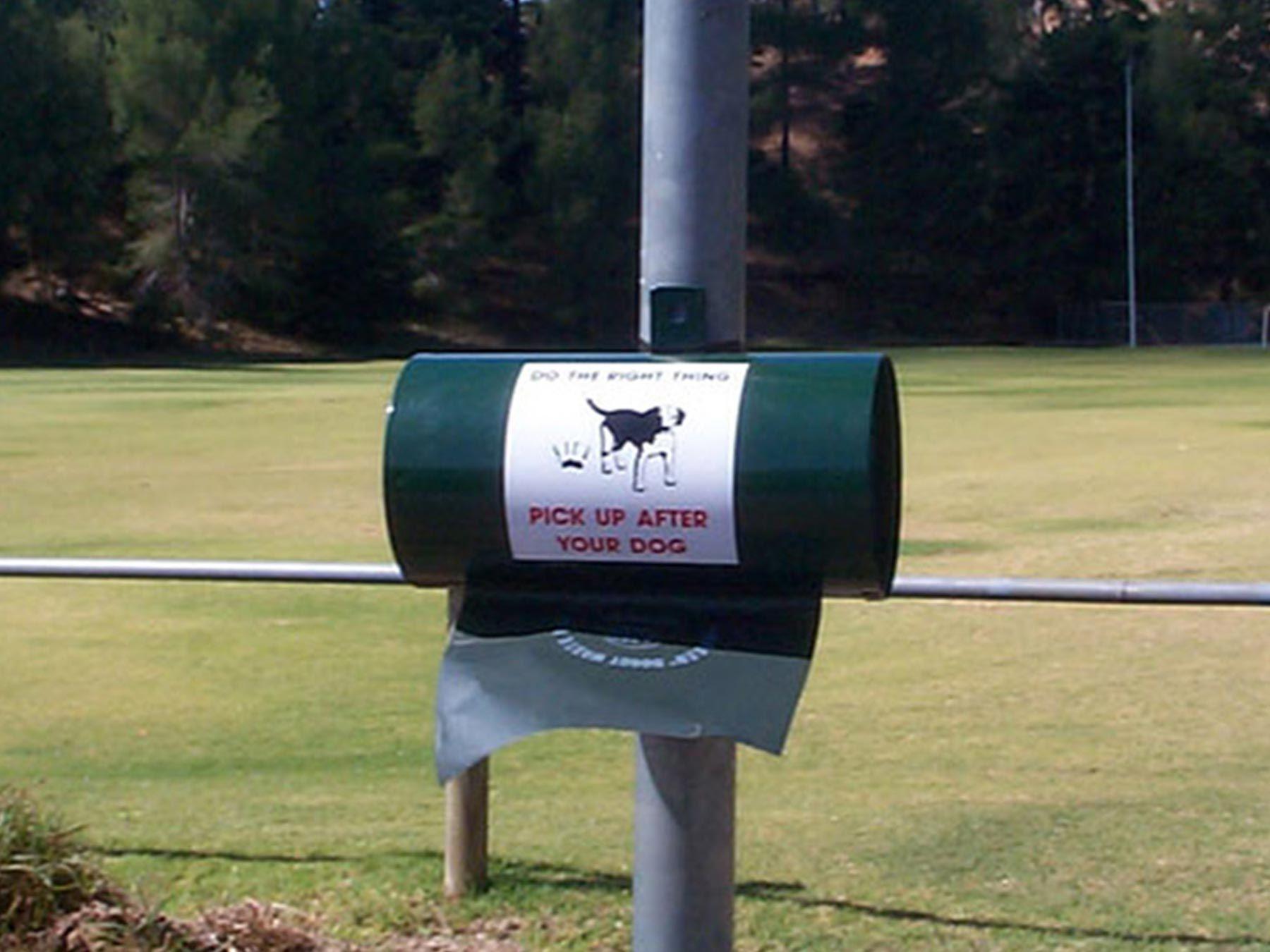 AMS Dog Waste Bag Dispenser Round Dog waste bag